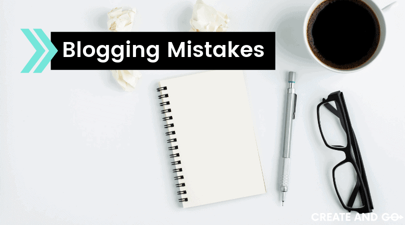 5 Typical Blogging Mistakes